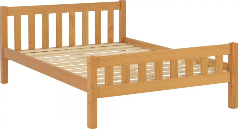 CARLOW  ANTIQUE PINE BED
