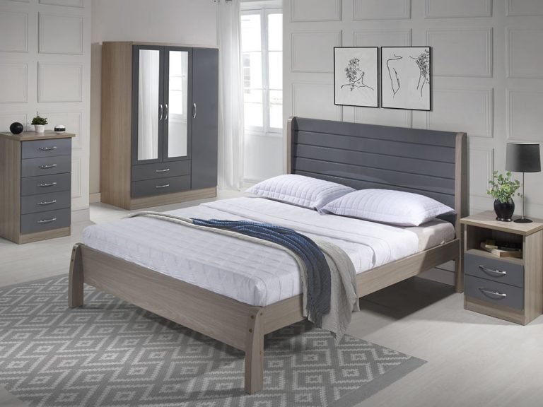 NEVADA WOODEN BED