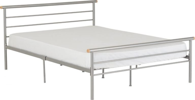 Orion Silver Metal Beds