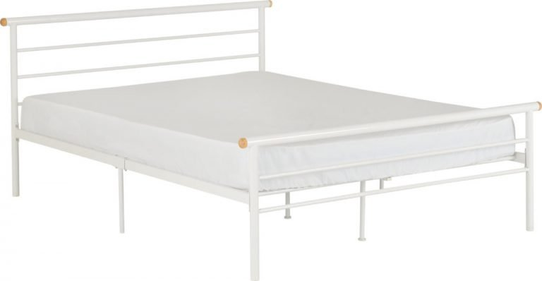 Orion White Metal Beds